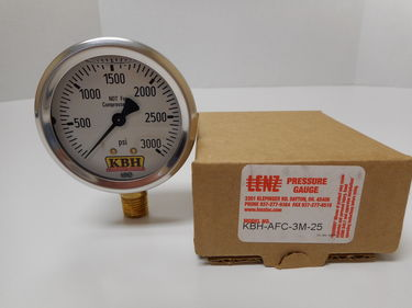 Photo of 3000 PSI HYDRAULIC GAUGE 109001